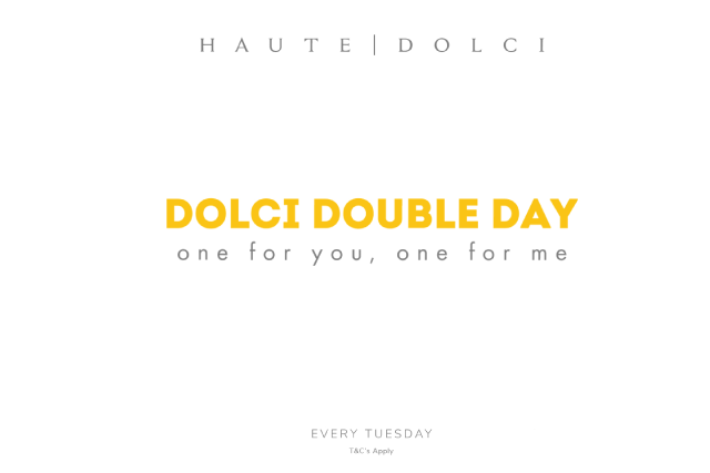 Dolci Double Day